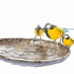 METAL GREAT TIT STICK BIRDFEEDER